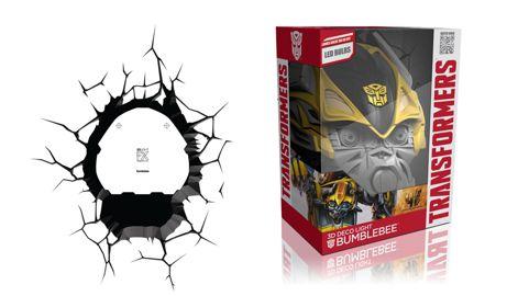 Lámpara 3D Transfomers - Bumblebee