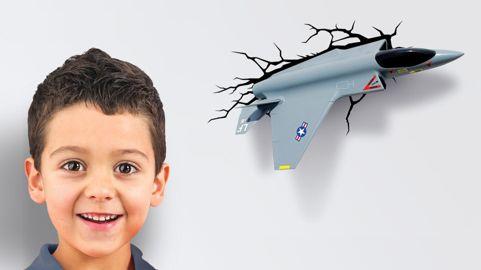 Lámpara 3D Avión